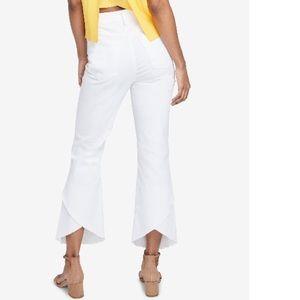 😱NWT Rachel Roy Frayed Ankle Jeans